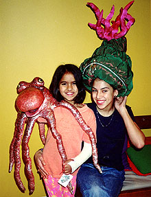 girls with octopus